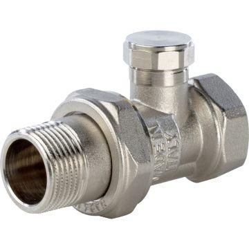 Клапан запорно-балансировочный нижний прямой 3/4 Stout SVL-0003-000020