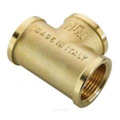 Тройник ВВ 3/4 х 1/2 х 3/4 для стальных труб резьбовой NTM