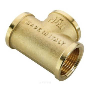 Тройник ВВ 3/4 х 1/2 х 3/4 для стальных труб резьбовой NTM 570G3/41/23/4