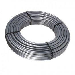 Труба VARMEGA FLEX PE-Xa/EVOH 25*3,5 (бухта 200м) silver