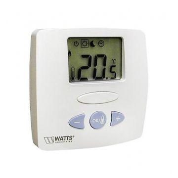 Термостат комнатный электронный WFHT-LCD С погружным датчиком Watts 10021110