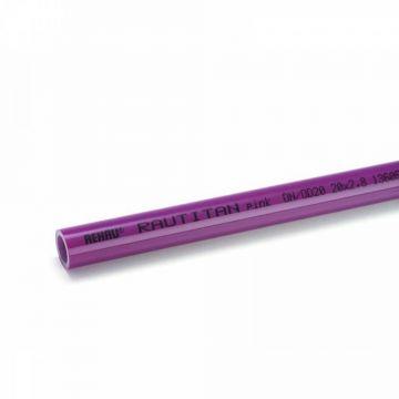Труба pink (отопление) 40х5,5 (отрезки 6 м) REHAU RAUTITAN