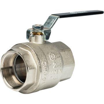 Кран шаровой полнопроходной ВР/ВР рычаг 2 Stout SVB-0001-000050