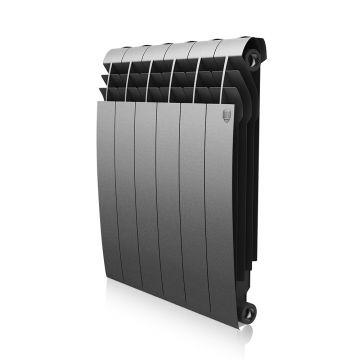 Радиатор биметаллический Royal Thermo BiLiner Silver Satin 500 6 секций НС-1093819
