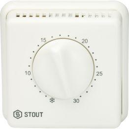 Термостат комнатный проводной TI-N переключатель