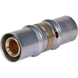 Муфта ø20 для металлопластиковых труб пресс STOUT (10/120)