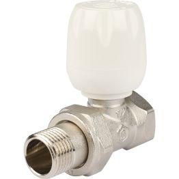 """Клапан ручной регулировки прямой с неподъемным шпинделем 1/2"""" Stout"""