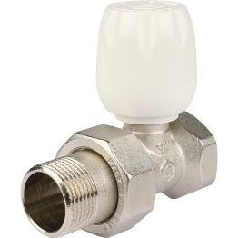 """Клапан ручной регулировки прямой с неподъемным шпинделем 3/4"""" Stout"""