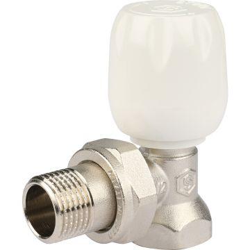 Клапан ручной регулировки угловой с неподъемным шпинделем 1/2 Stout SVRS-1152-000015