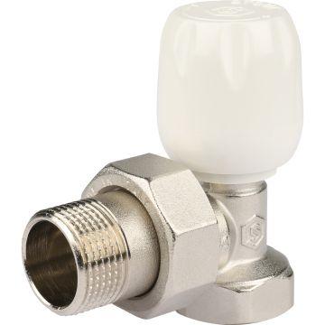 Клапан ручной регулировки угловой с неподъемным шпинделем 3/4 Stout SVRS-1152-000020