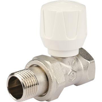 Клапан ручной регулировки прямой с закрытием затвора металл по металлу 1/2 Stout SVR-2122-000015