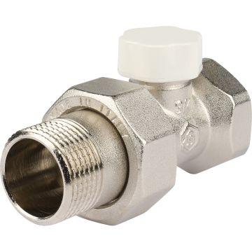 Клапан запорно-балансировочный прямой с закрытием затвора металл по металлу 3/4 Stout SVL-1176-000020