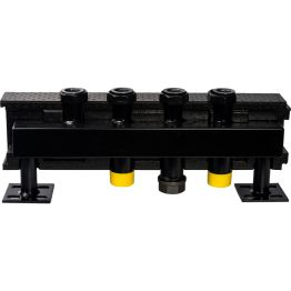 Коллектор распределительный стальной 2 отопительных контура в теплоизоляции ø32 Stout SDG-0016-005002