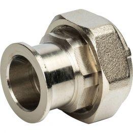 Разъемное соединение с плоским уплотнением 1 никель Stout SDG-0019-010025