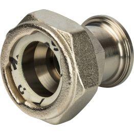 Разъемное соединение с плоским уплотнением и обратным клапаном 1