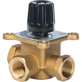 Клапан смесительный 3-х ходовой 1/2 KVs 2,5 м3/ч Stout SVM-0003-011502