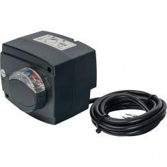 Сервопривод для смес клапанов ход 90° для пропорц регулировки AC 24V время 60-90-120s DC 0-10V Stout