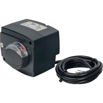 Сервопривод для смес клапанов ход 90° для пропорц регулировки AC 24V время 60-90-120s DC 0-10V Stout SVM-0005-230016