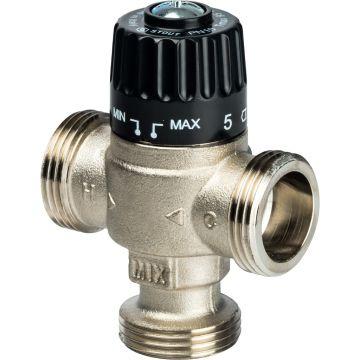 Клапан смесительный термостатический для отопления и ГВС 1 НР 30-65°C KV 1,8 центр смеш-ие Stout SVM-0025-186525