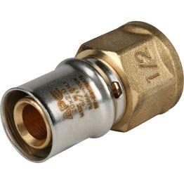 """Переходник ВР ø1/2""""x20 для металлопластиковых труб пресс STOUT (10/150)"""