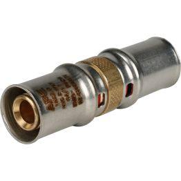 Муфта ø16 для металлопластиковых труб пресс STOUT (10/200)