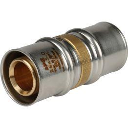 Муфта ø26 для металлопластиковых труб пресс STOUT (5/100)