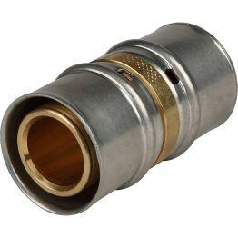 Муфта ø32 для металлопластиковых труб пресс STOUT (5/60)