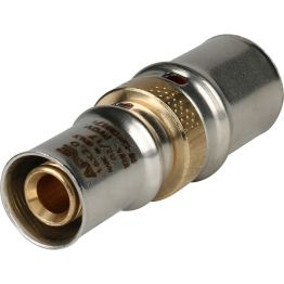 Муфта переходная ø20*16 для металлопластиковых труб пресс STOUT (10/150)