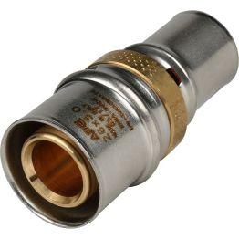 Муфта переходная ø26*20 для металлопластиковых труб пресс STOUT (5/100)