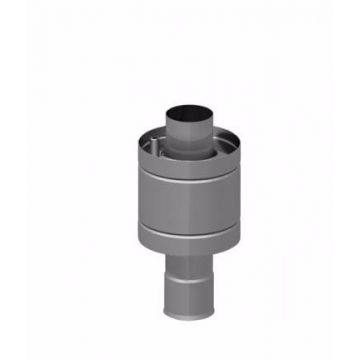 Теплообменник 6л на трубе ø115 штамп (AISI 439) 477