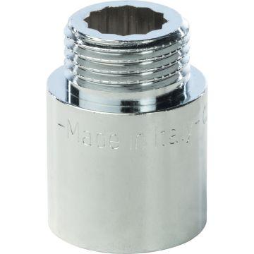 Удлинитель ВН хром 1/2*25 Stout SFT-0002-001225