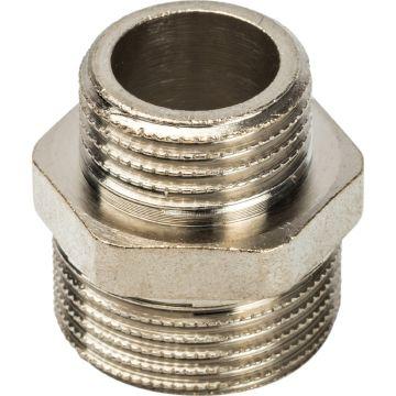 Ниппель переходной НН никель 3/4*1/2 Stout SFT-0004-003412