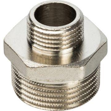 Ниппель переходной НН никель 1*1/2 Stout SFT-0004-000112