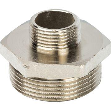 Ниппель переходной НН никель 1 1/2*3/4 Stout SFT-0004-011234