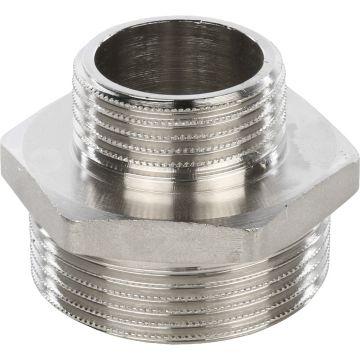 Ниппель переходной НН никель 1 1/2*1 Stout SFT-0004-001121