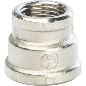 Муфта переходная ВР никель 3/4*1/2 Stout SFT-0006-003412