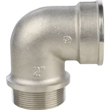 Угольник с упором ВН никель 2 Stout SFT-0016-000002