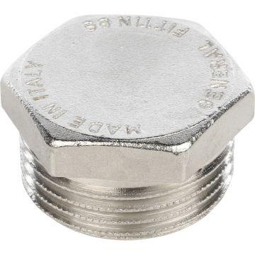Заглушка НР никель 1/8 Stout SFT-0025-000018