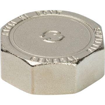 Заглушка ВР никель 1/4 Stout SFT-0027-000014