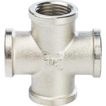 Крестовина ВР никель 1/2 Stout SFT-0031-000012