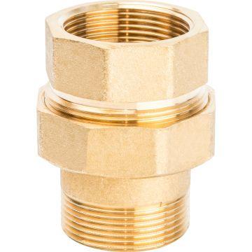 Соединение разъемное американка ВН 1 1/2 уплотнение под гайкой по плоскости Stout SFT-0044-000112