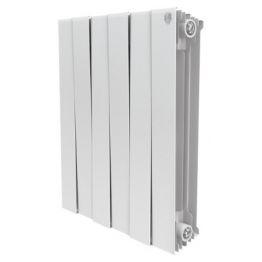 Радиатор биметаллический Royal Thermo Piano Forte Bianco Traffico 500 8 секций