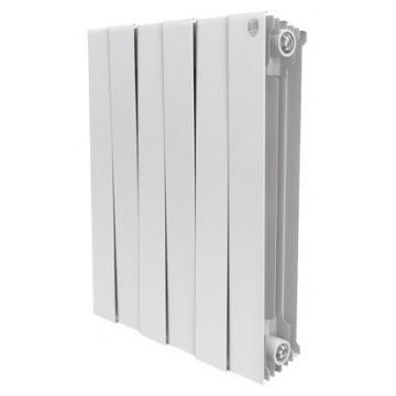 Радиатор биметаллический Royal Thermo Piano Forte Bianco Traffico 500 8 секций НС-1054817