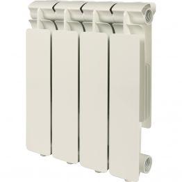 Радиатор алюминиевый Bravo 350/80 4 секции Stout