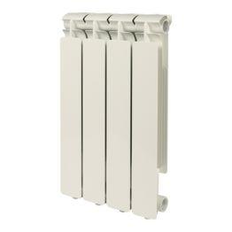 Радиатор алюминиевый Bravo 500/80 4 секции Stout