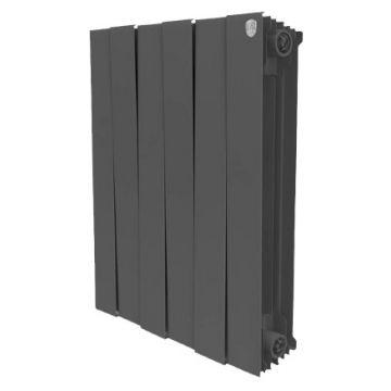 Радиатор биметаллический Royal Thermo Piano Forte Noir Sable 500 12 секций НС-1054871