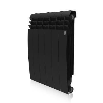 Радиатор биметаллический Royal Thermo BiLiner Noir Sable 500 4 секции НС-1084943