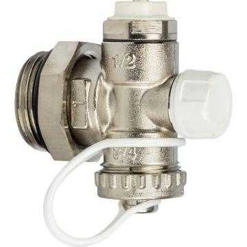 Фитинг концевой регулируемый с дренажным клапаном ручным воздухоотводчиком 1 Stout SMS-1000-020001