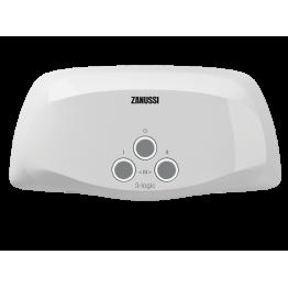 Водонагреватель проточный электрический 3-logic TS (3,5 kW) - душ + кран Zanussi