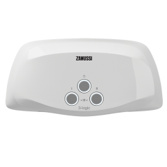 Водонагреватель проточный электрический 3-logic TS (5,5 kW) - душ + кран Zanussi